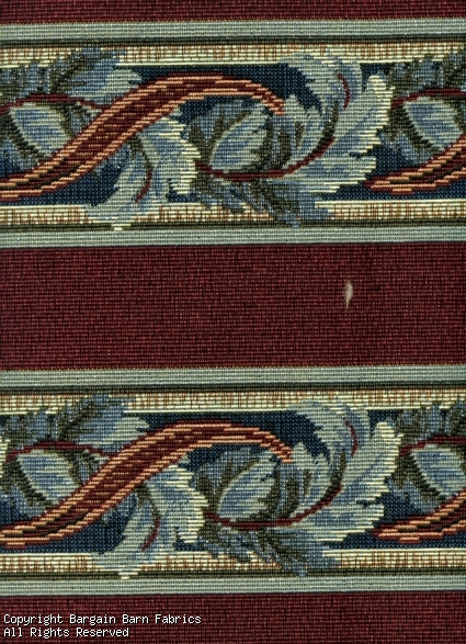 Acanthus Leaf Stripe Tapestry