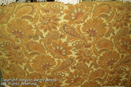 Large Yellow Chenille Floral