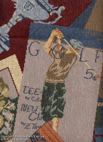 Golfers Delight Tapestery