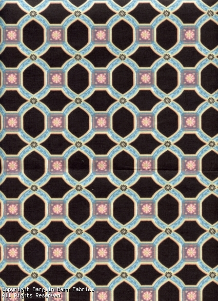 "Geometric Print ""Intaglio"" by Lynn Hollyn Associates"