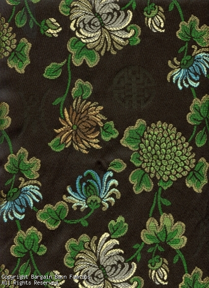 Asian Floral Brocade by Regal Fabrics