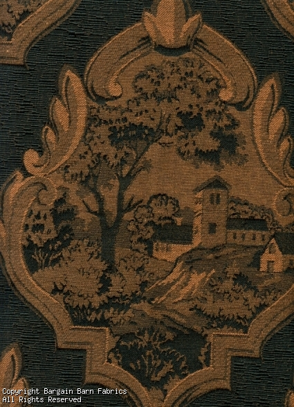 Itallian Mannor House Toile Tapestry