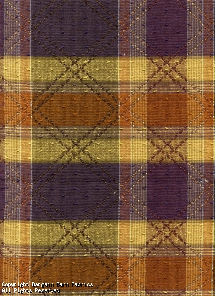 Argyle and Plaid Tapestry