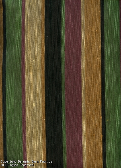 Modern Green and Plum Stripe