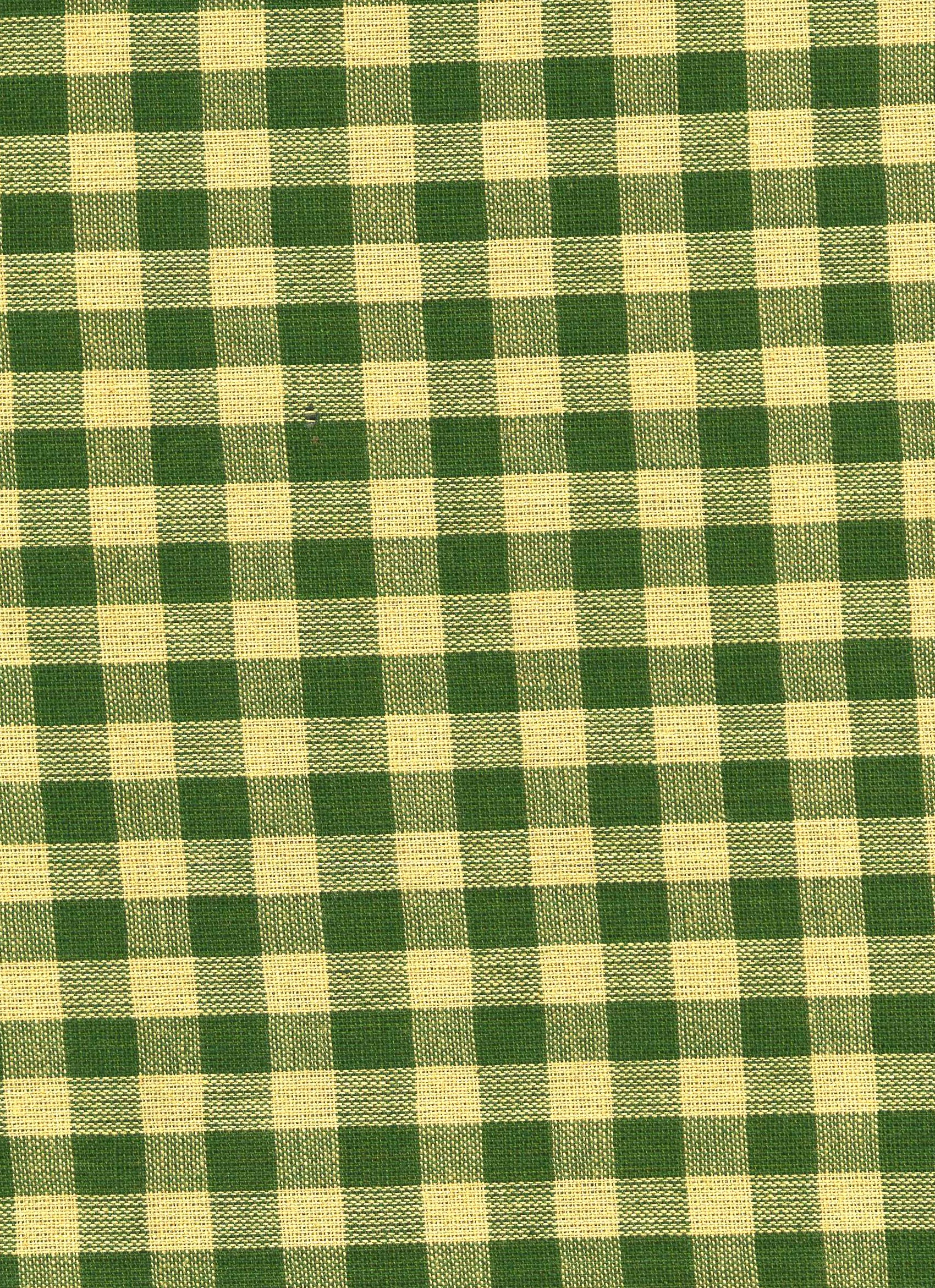 Green and Oatmeal Plaid