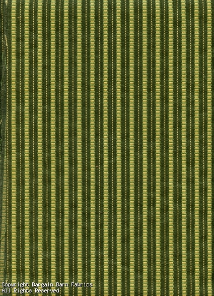 Great Narrow Stripe in Forest Green and Gold