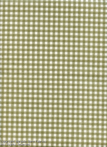 Green Gingham Check by Bryant Industries