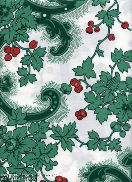 Green and Red Victorian Society in America for Schumacher