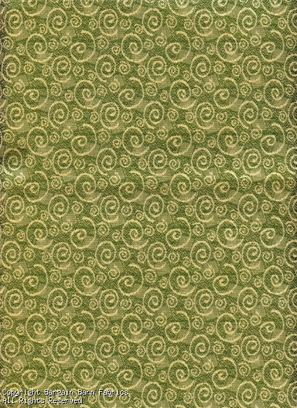 Commercial Quality Sage with Contemporary Swirl