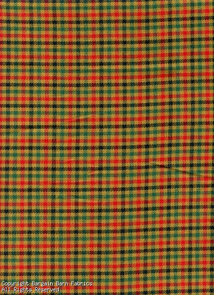 rustic Mini Plaid Navy/Tobbaco/Red/Hunter Green