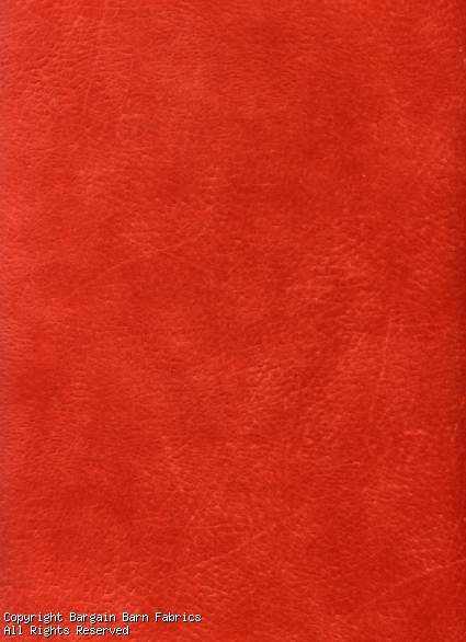 "MICROFIBER ""Paparika"" Fairview- Leather Look"