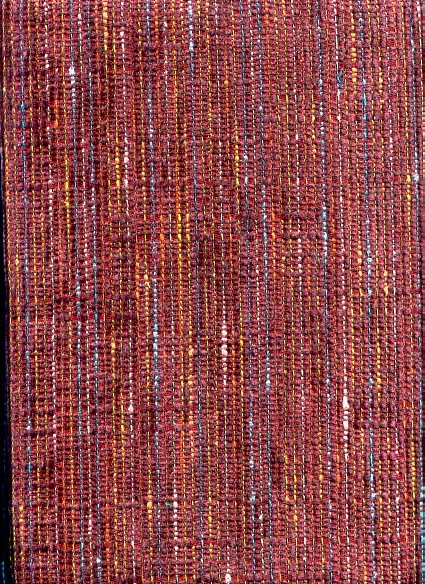 Heavy Duty Rust Tweed Upholstery