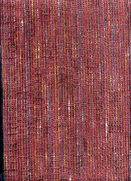 Heavy Duty Rust Tweed Upholstery