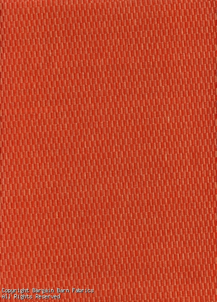 Brick Red Textured Upholstery