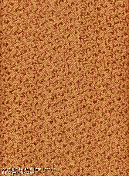 Red Gold Contemporary Swirl