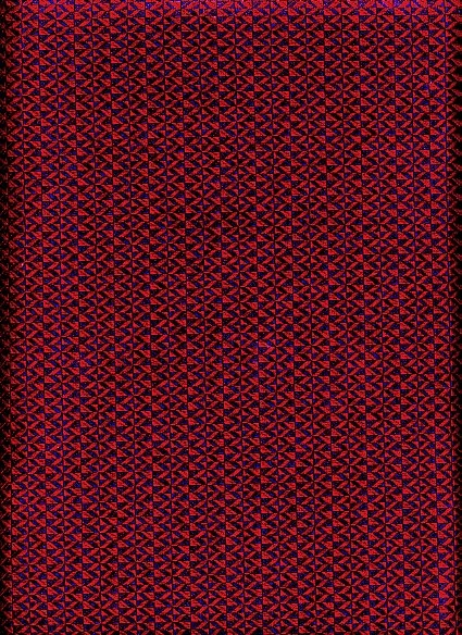 Commercial Quality Burgandy and Navy Patterned Upholstery