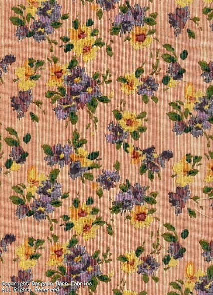 Minature Flower Bouquet Tapestry