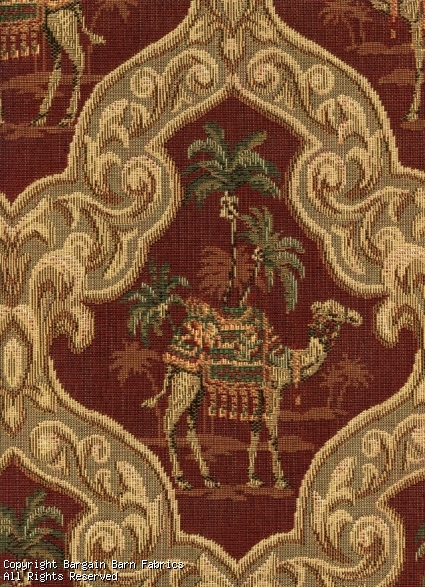 Camel in an Oasis Scene Tapestry