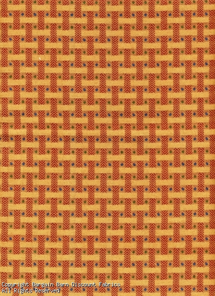 Rust and Gold Geometric