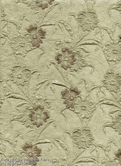 Jacquard Floral in Sage/Taupe