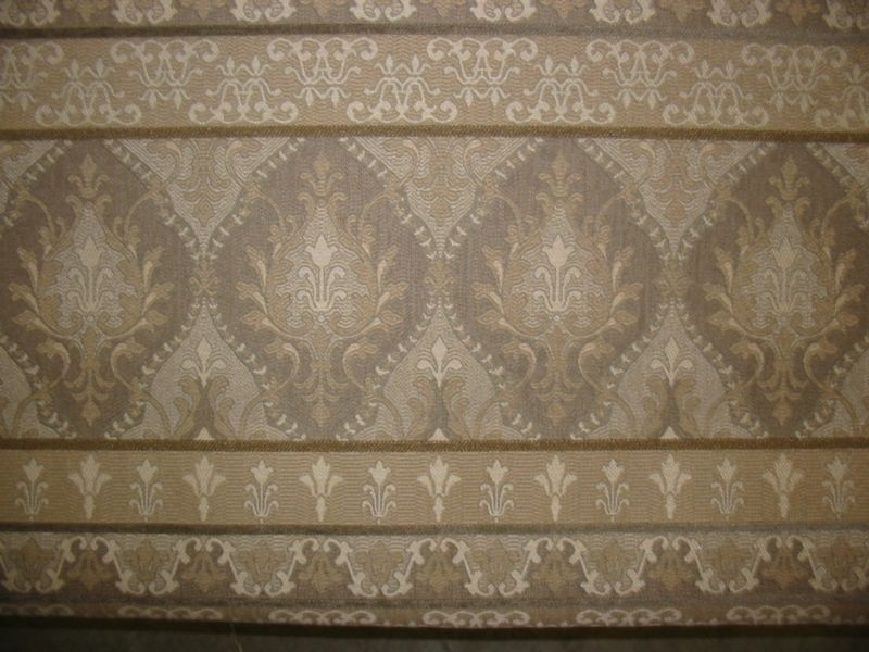 Oriental Motif in Stripe--Shades of Neutral Colors
