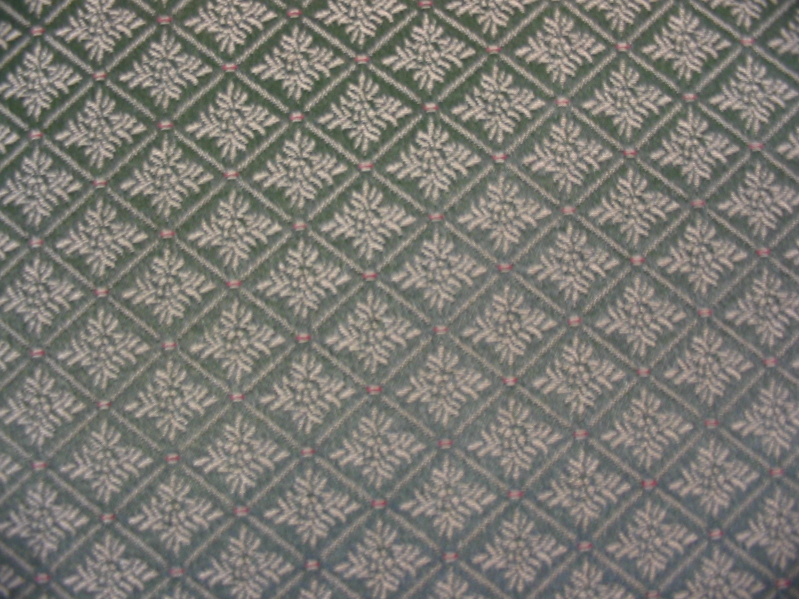 Diamond Pattern in Deep Sage