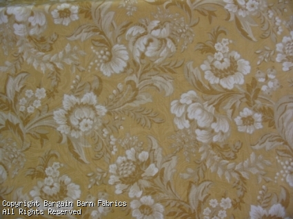 Richloom Soft Yellow Floral Design