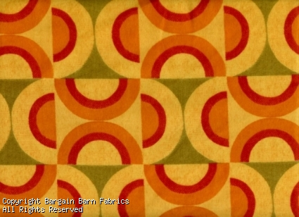 Contemporary Geometric Yellow,Red, Butternut,Lime