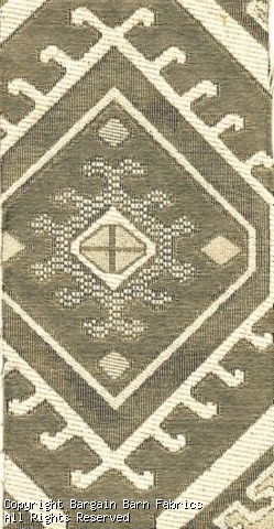 Tone on Tone Heavy Jacquard in Native American Southwestern Moti