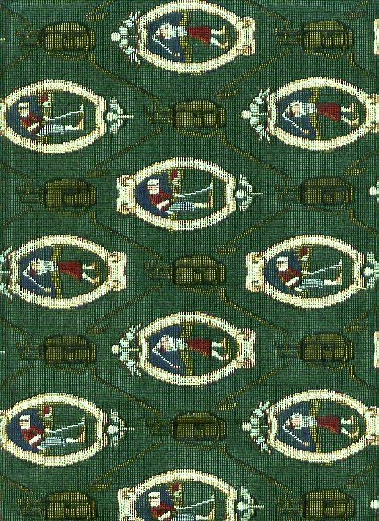 Hunter Green Tapestry with Men and Women Golfers