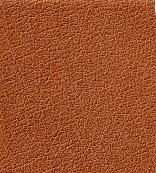 Textured Faux Leather Vinyl in Brown
