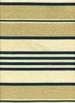 NAUTICA Stripe in Navy on Tan and Beige