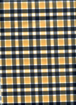 Pittsburg Steelers Colored Plaid Vinylized Fabric