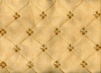 Sunlite Embroidered Faux Suede in Pale Yellow