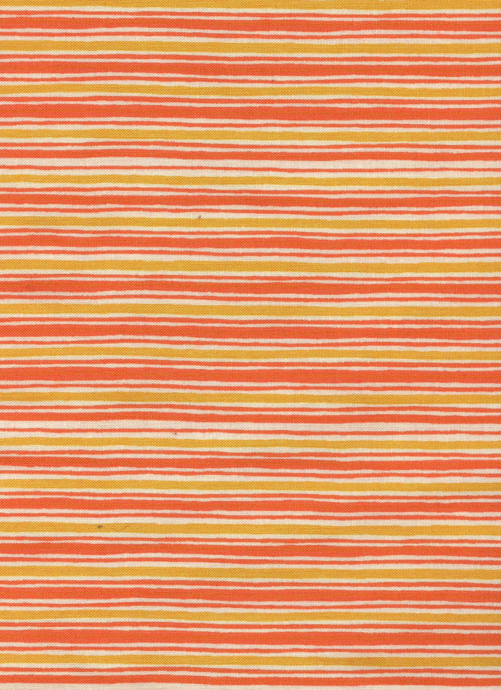 Orange and Yellow Stripe