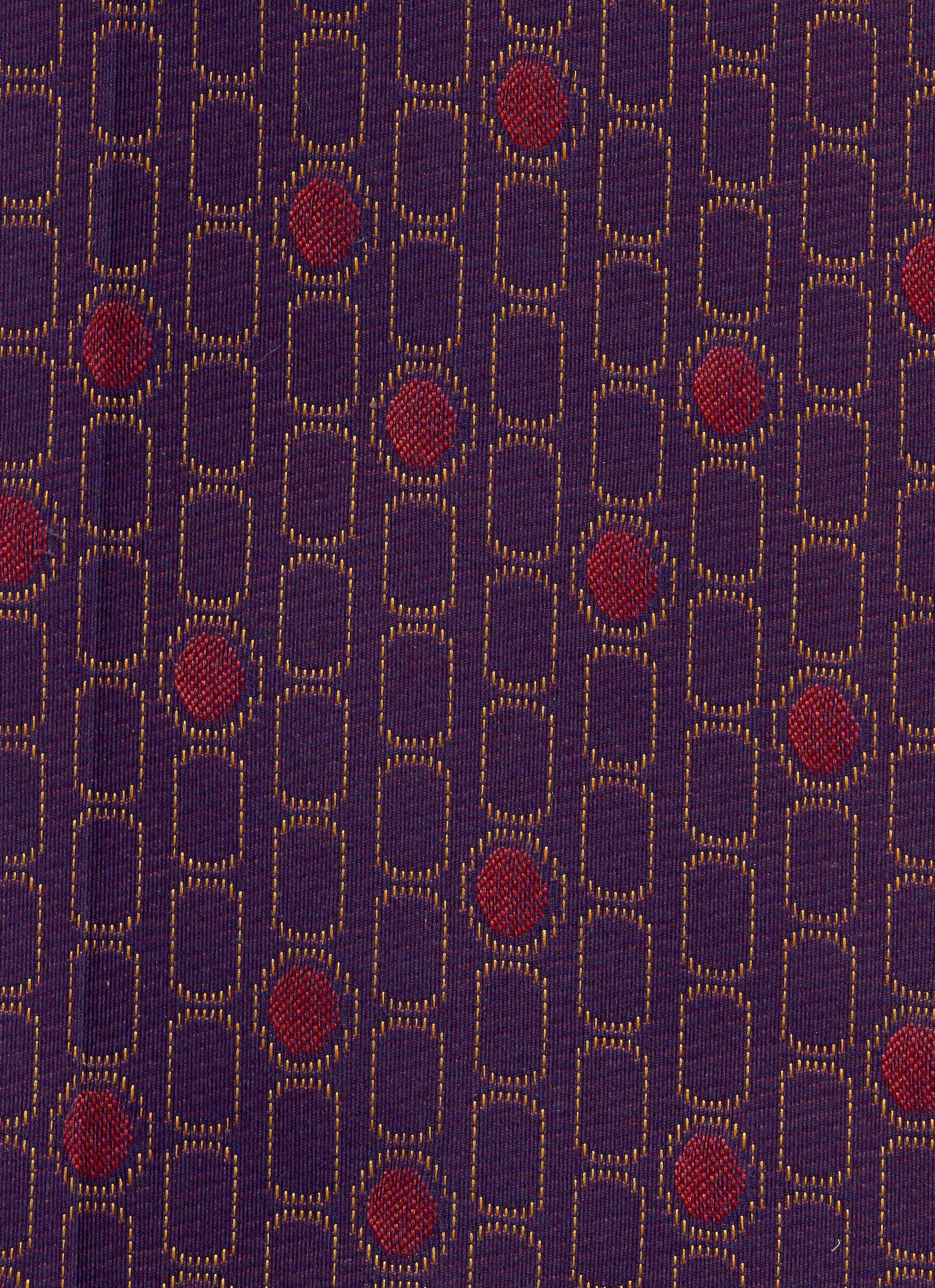 Purple and Plum Geometric Shapes