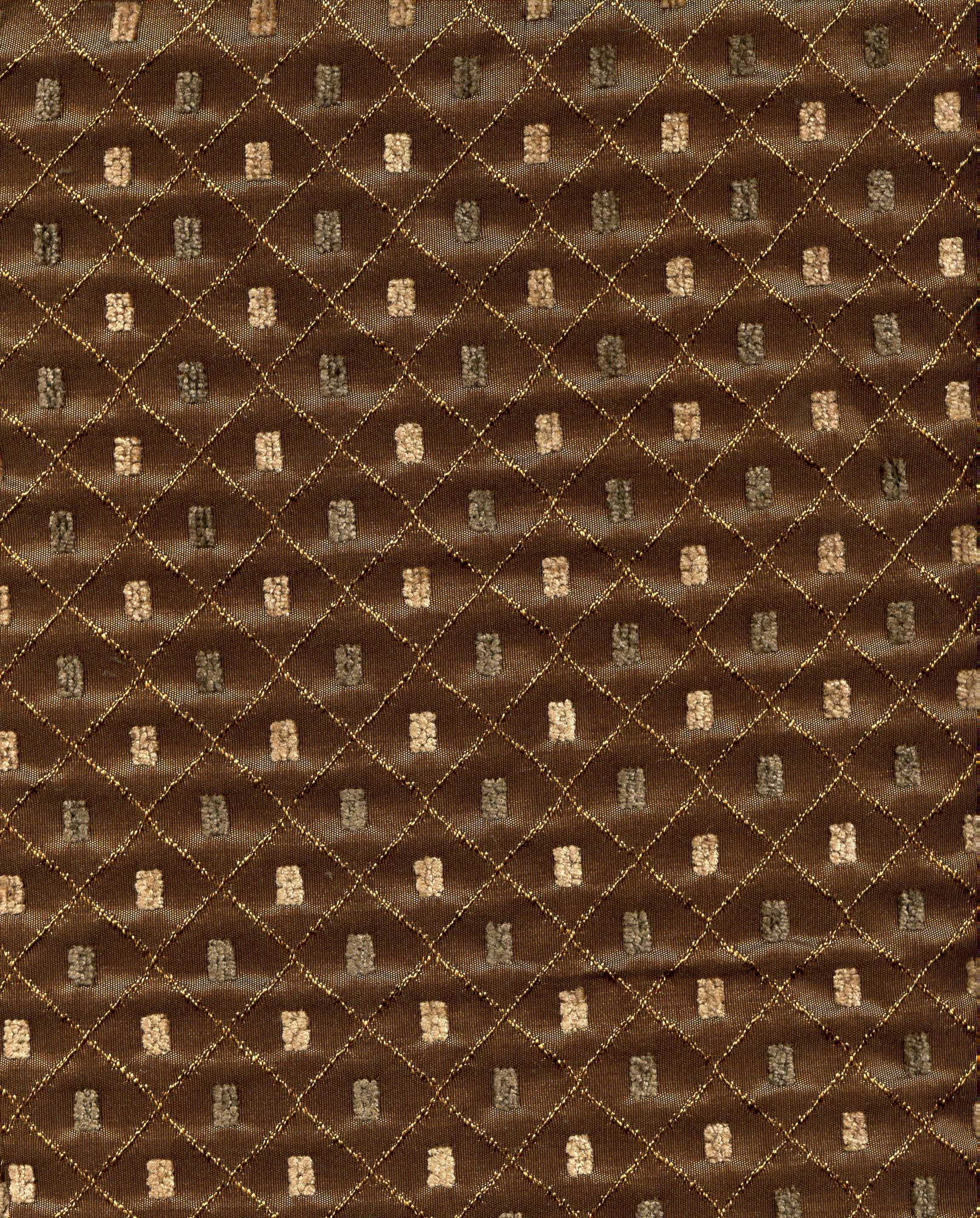 Brown Diamond Print