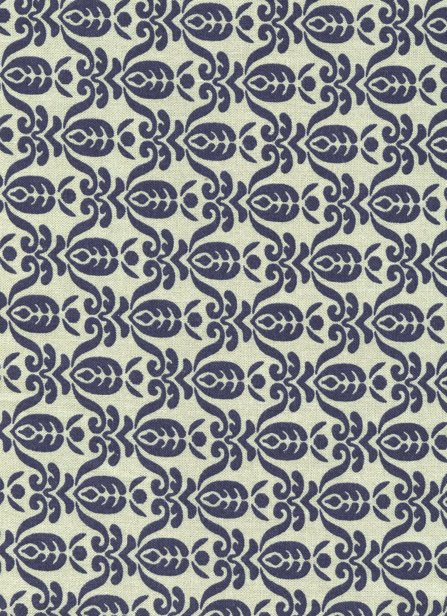 Farmer Fancy- Light Green with Navy Blue Design