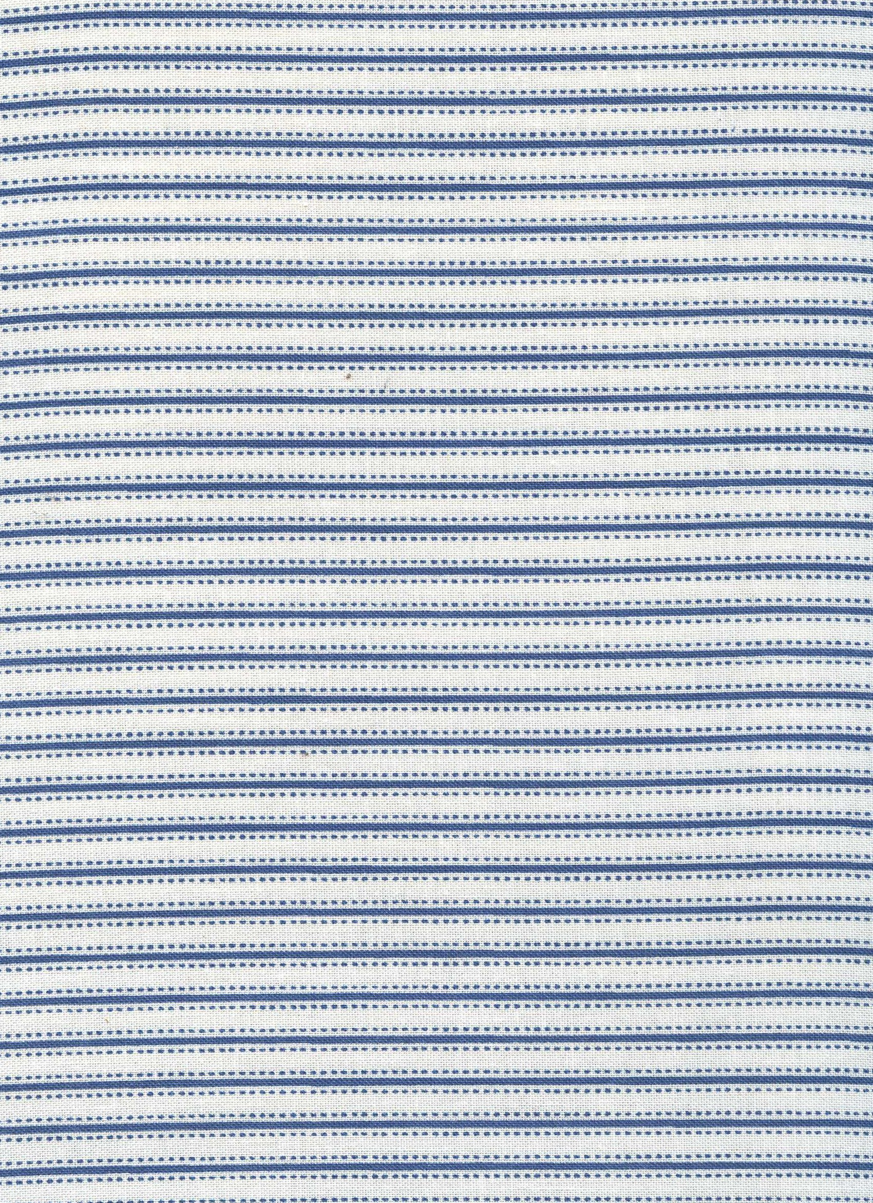 Fairfield- Blue and Cream Stripe