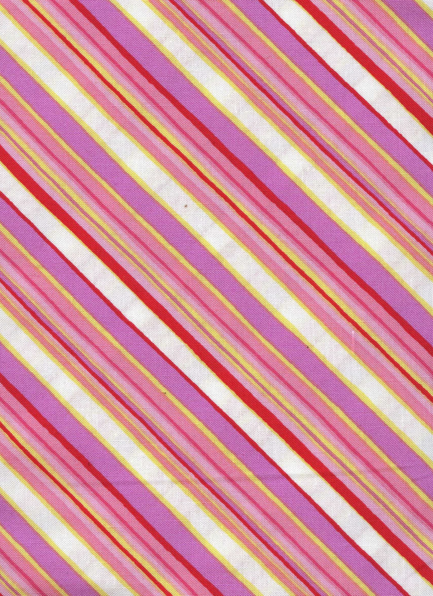 Pink, Purple and White Stripe