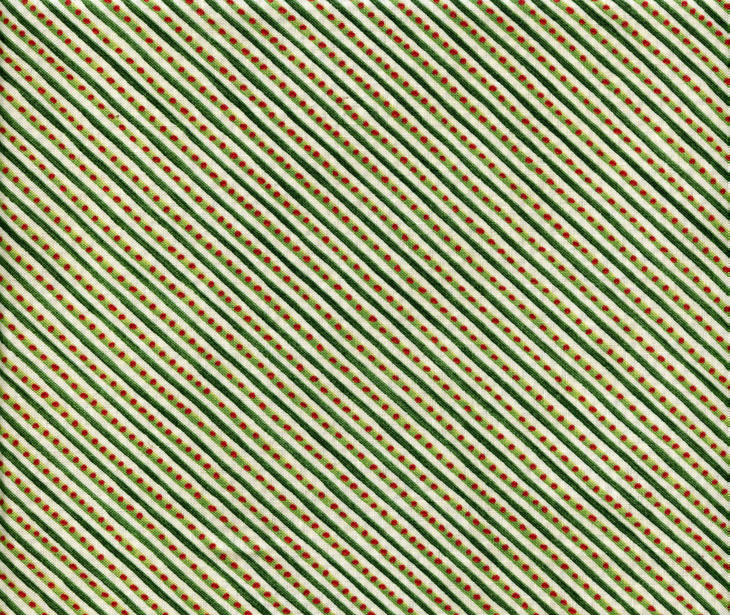 12 Days of Christmas-Green Stripe