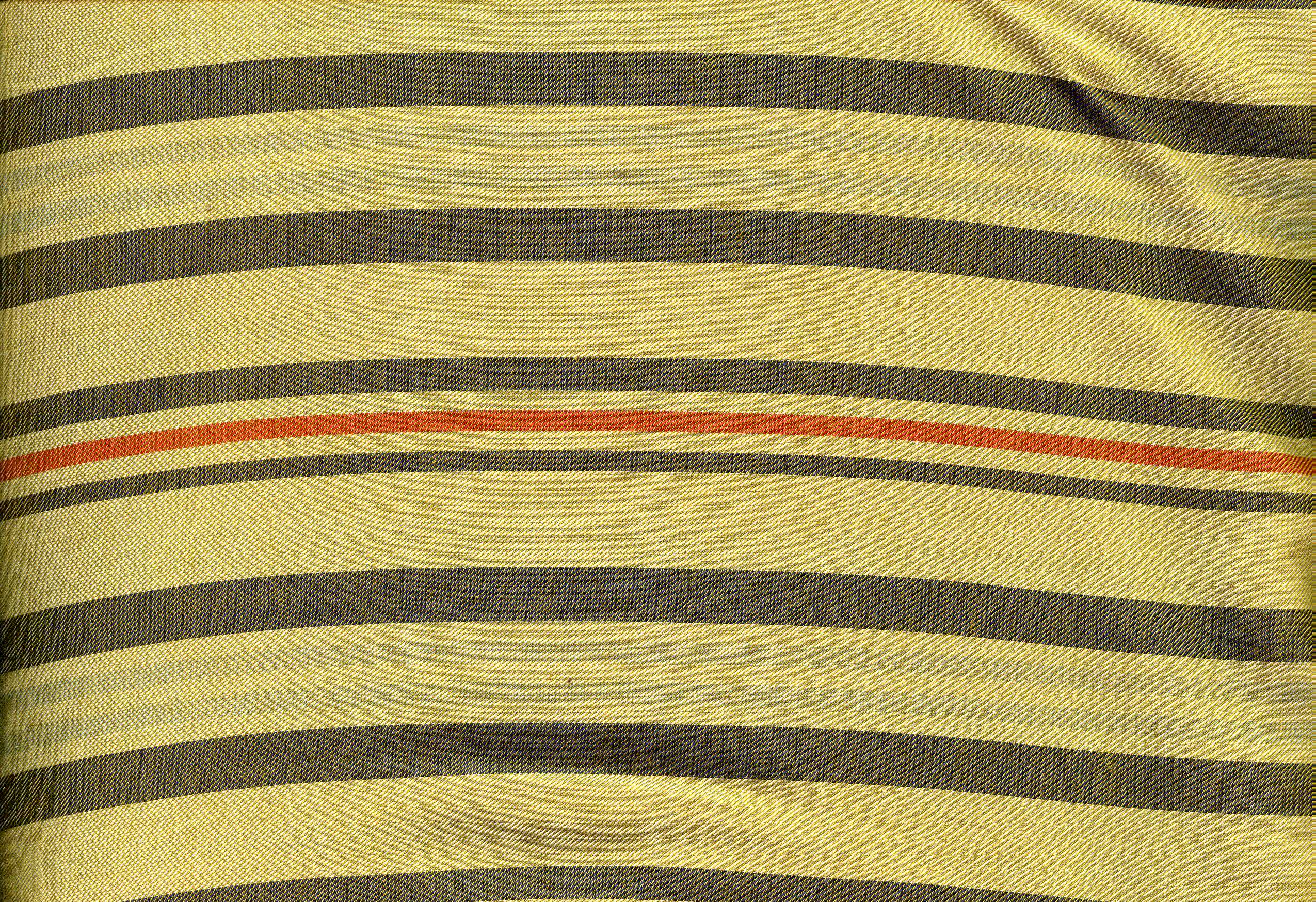 Tan, Brown and Orange Stripe