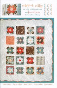 Modern Rose Garden quilt - Carolina Patchwork pattern