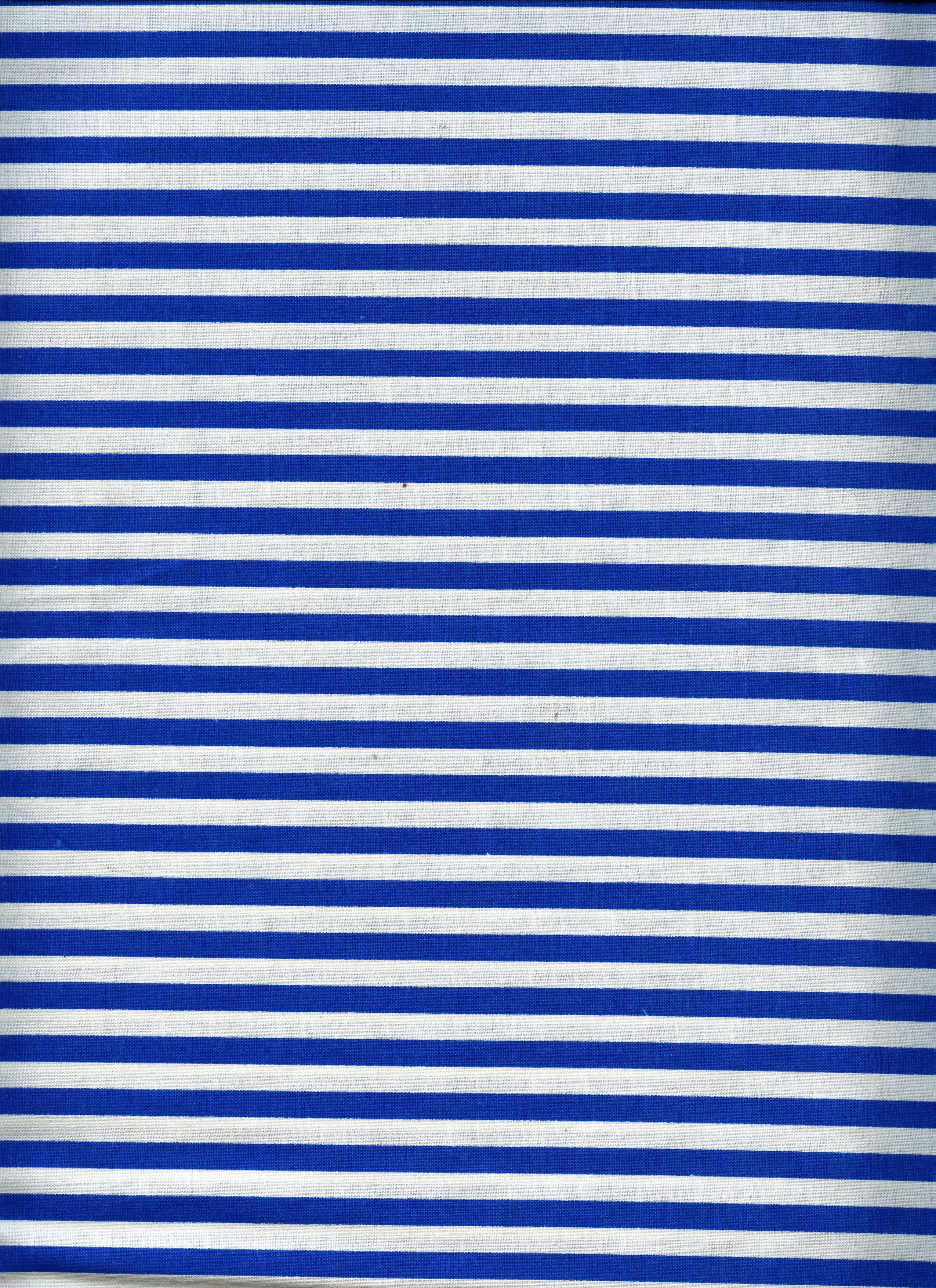 white and blue stripe