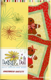 Ginerbread Quiltlets QUilt Pattern by Daisy & Dell