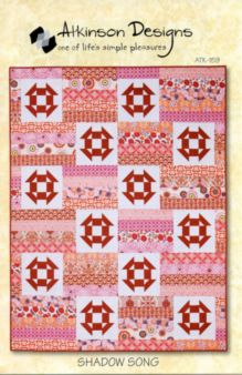 Shadow Song Quilt Pattern by Atkinson Designs