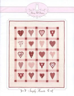 Simply Hearts Quilt Pattern by Bunny Hill Designs